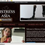 Mistress Of Asia Renew