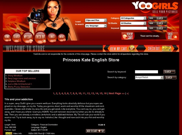 Princess Kate English Special Offer
