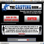 The Casting Room Strip Search