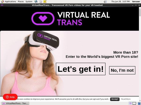 Virtual Real Trans Offer Paypal