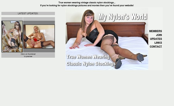 My Nylons World Threesome