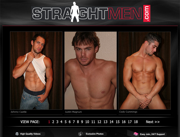 Straightmen Login Info