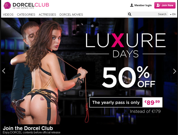 Dorcelclub.com Password And Login