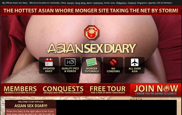 Asiansexdiary Member Account